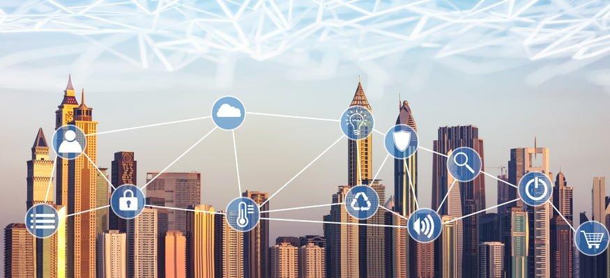 Smart building technology - different types of smart sensor
