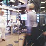 People flow within an office