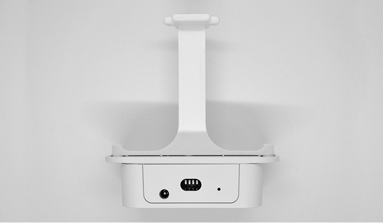 Wireless people flow sensor - top view