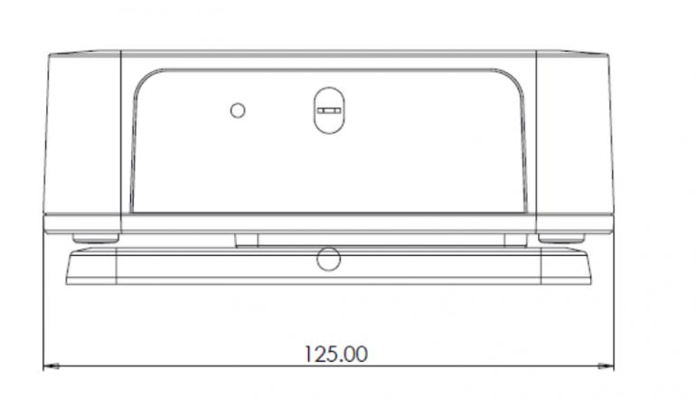 pressac-people-flow-sensor-dimensions-front