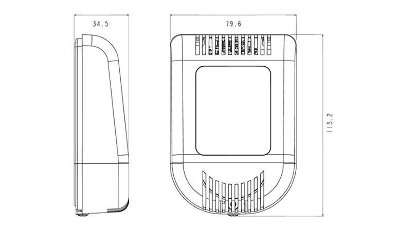 pressac-wireless-c02-temp-sensor-dimensions