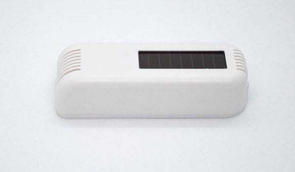 Wireless temperature humidity sensor side view