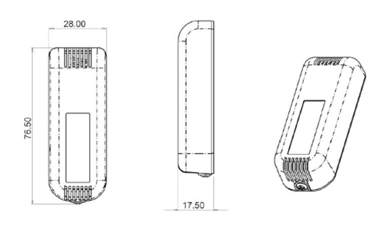 pressac-wireless-temperature-humidity-sensor-dimensions