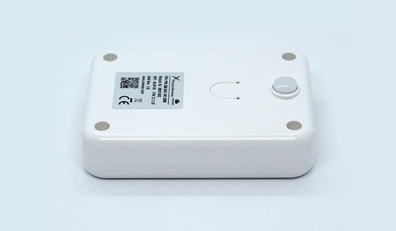 Wireless table occupancy sensor side view