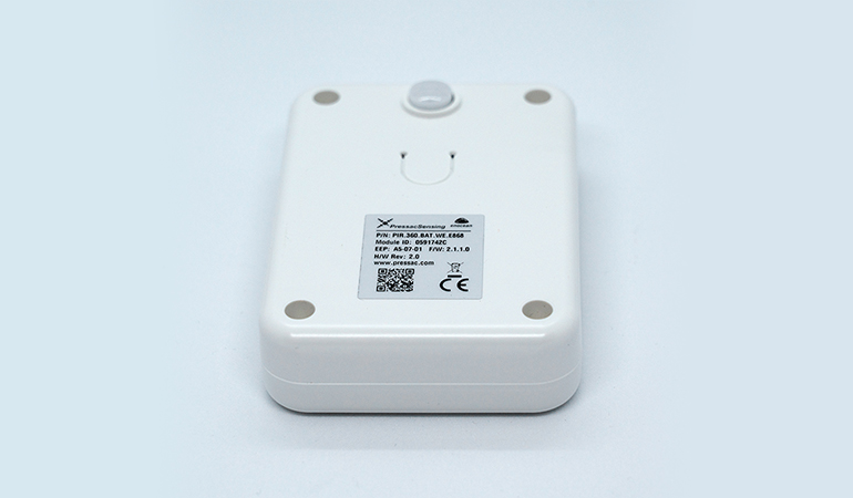 Wireless table occupancy sensor top view