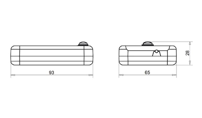 Pressac desk occupancy sensor dimensions