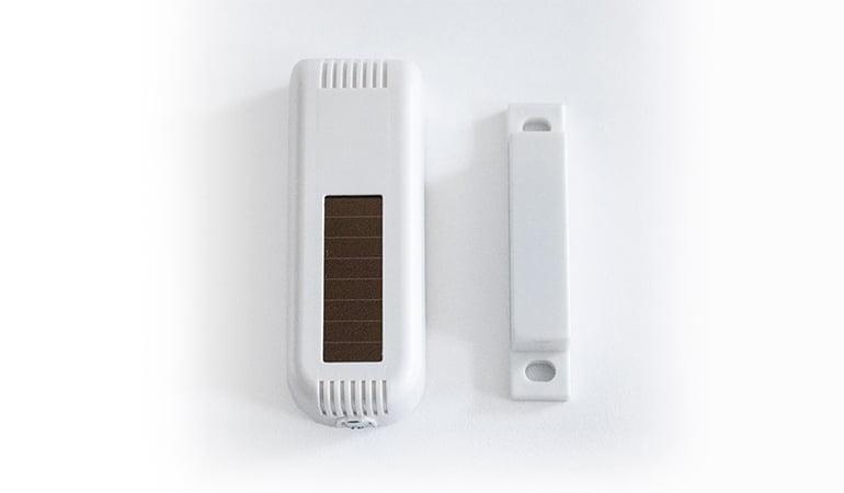Wireless door & window sensor top view