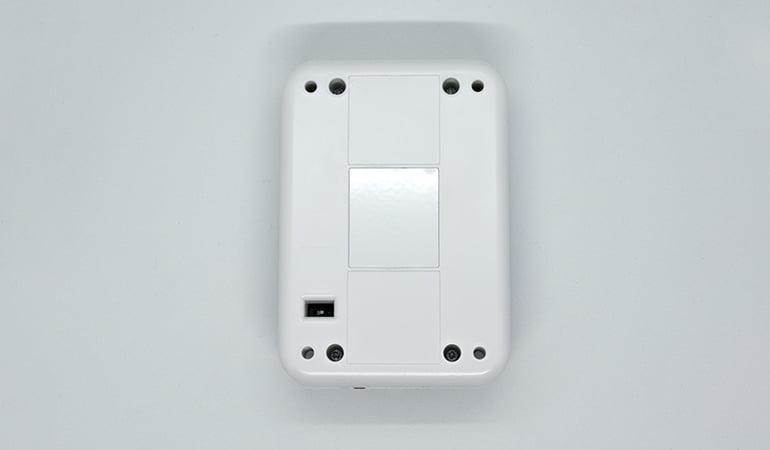 Wireless room occupancy sensor bottom view