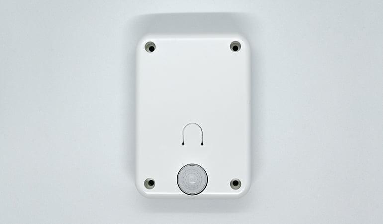 Wireless room occupancy sensor top view